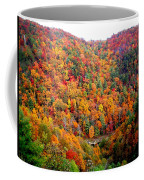 Brilliant Color Trees Coffee Mug