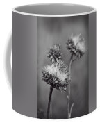 Bristle Thistle In Black And White Coffee Mug