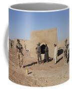 British Soldiers On Foot Patrol Coffee Mug