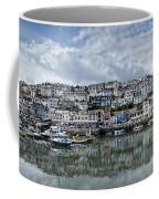 Brixham Harbour - Panorama Coffee Mug
