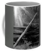 Broken Fence In Morning Light At Yosemite Coffee Mug