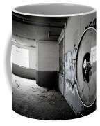 Broken Weighing Coffee Mug