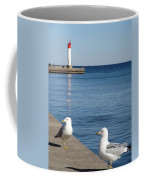 Bronte Lighthouse Gulls Coffee Mug