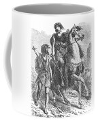 Bronze Age Warrior Coffee Mug by Photo Researchers