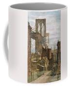 Brooklyn Bridge, 1882 Coffee Mug
