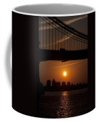Brooklyn Bridge Sunrise Coffee Mug