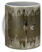 Brother Birthday Greeting Card - Canada Goose Coffee Mug