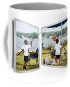 Brothers Fishing - Oof Coffee Mug