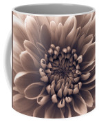 Brown Flower Coffee Mug