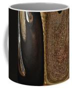 Brown Metal Coffee Mug by Skip Nall