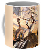 Brown Pelican - Holding Things Together Coffee Mug