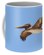 Brown Pelican In High Flight Coffee Mug