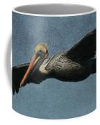 Brown Pelican Painterly Coffee Mug