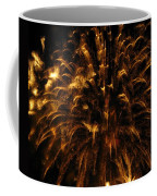 Brushed Gold Coffee Mug by Rhonda Barrett