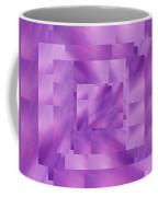 Brushed Purple Violet 4 Coffee Mug