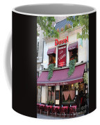 Brussels - Restaurant La Villette With Trees Coffee Mug by Carol Groenen