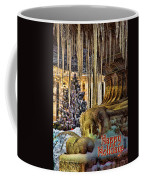 Bryant Park Fountain Holiday Coffee Mug