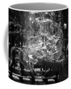 Bubble Blower Of Central Aprk In Black And White Coffee Mug