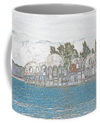 Bubble House In Pencil Skech Coffee Mug