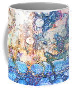 Bubbles Abstract Coffee Mug