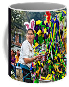 Bubbles And Bunny Ears Coffee Mug