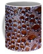 Bubbles Of Steam Cherry Wine Red Coffee Mug