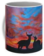 Buck And Doe Coffee Mug