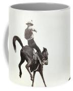 Bucking Bronco, C1888 Coffee Mug