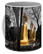 Buddha In The Jungle Coffee Mug by Adrian Evans