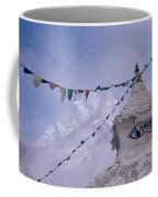 Buddhist Shrine In The Himalayas Coffee Mug