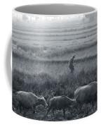 Buffalo And Monsoon Rain Coffee Mug by Anonymous