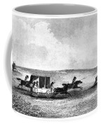 Buffalo Hunt, 1841 Coffee Mug