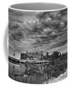 Buffalo Mills Under Clouds Coffee Mug