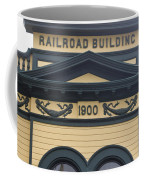 Building At Klondike Gold Rush National Coffee Mug by Michael Melford