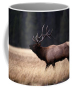 Bull Elk Cervus Elaphus Coffee Mug