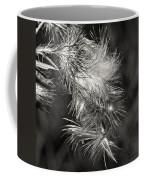 Bull Thistle Monochrome Coffee Mug