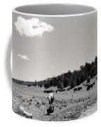 Bull With Buffalo Coffee Mug