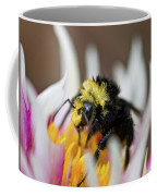 Bumblebee Attacking Flower Coffee Mug