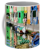 Burano Reflections Coffee Mug