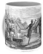 Burma: Dance, 1853 Coffee Mug
