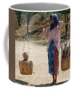 Burman Woman And Son Coffee Mug
