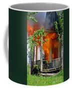 Burning House Coffee Mug
