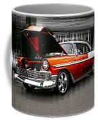 Burnt Orange Chevy Abstract Coffee Mug