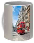 Bus On Piccadilly Coffee Mug