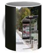 Bus Stop Bus Goes Coffee Mug