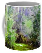 Bush Trail At The Afternoon Coffee Mug