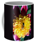Busy Bee On Yellow Flower Coffee Mug