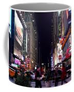 Busy Sidewalks Of The City Coffee Mug