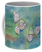 Butterflies Hanging Out Coffee Mug