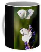 Butterfly - Cabbage White - As One Coffee Mug